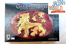 Wall Plaque Lion Shield HBO Game of Thrones  Dark Horse SDCC Lannister Mounting