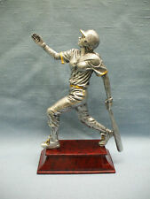 female Softball statue trophy tall resin 57606Gs