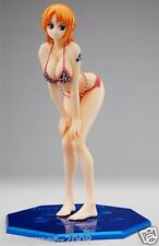 "BNIB JAPAN Mega House One Piece P.O.P POP ""LIMITED EDITION"" FIGURE NAMI Ver.Pink"