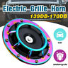 170dB Compact Electric Loud Blast 12V Grille Mount Super Tone Hella Horn
