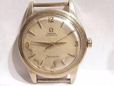 Vintage OMEGA Seamaster 17 J BUMPER Automatic Mens Wrist Watch 354 repair 14 KGF