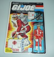 *RECARDED* 1986 GI Joe Lifeline v1 Figure Complete Sealed *CUSTOM File Card Back