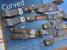 New Listing1968 Ford Mustang Front Seat Belts Set Of 4 by Robbins Tan / Light Brown