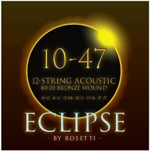 46AST12 | Acoustic Guitar Strings for 12 Strings Guitar | Eclipse