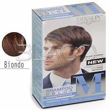 Dikson Shampoo Color M for Man Uomo per Capelli grigi bianchi colore Biondo