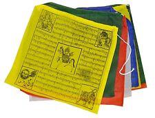 "Buddhist Tara Buddha Windhorse Cotton Prayer Flags 8"",  5 Rolls Nepal Tibet YM01"