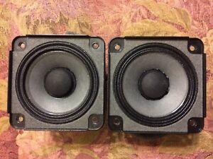 Pair of Bose Genuine SoundDock Speakers Part # 273488-002