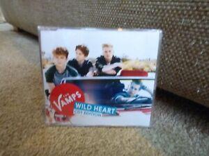 THE VAMPS - WILD HEART (ORIGINAL 2014 CD SINGLE : CD1)