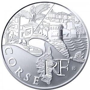Corse 2011 - 10 Euro des Régions en Argent