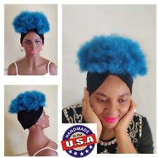 2in1 Wrapwig HeadBand Wig Dark | Kinky Wig | Afro Wig Wig For Black Women 613