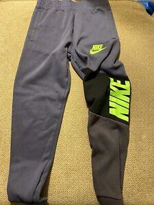 Boys Nike Sweatpants Joggers Blue Large L