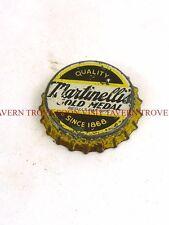 1940s Martinelli's Gold Medal Apple Cider Something Cork Crown Tavern Trove