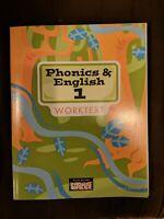 BJU Press Phonics & English 1 Student Worktext 3rd ed 281683 Bob Jones 1st Grade