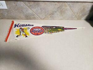 Vintage 1970's Houston Astros pennant