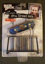 Tech Deck Pro Street Hits, NIP, CHRIS HASLAM W/ Obstical