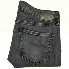 Abercrombie & Fitch Men's Jeans Size 34x32 Langdon Skinny Destroyed Holes