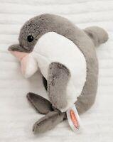 "Melissa & Doug Gray Skimmer Dolphin Lifelike Plush Stuffed Animal 12"" Toy #7630"