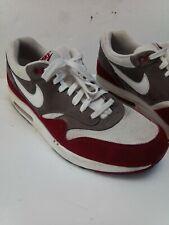 Nike Air Max 1 Essential red grey white Men's 11.Rare.