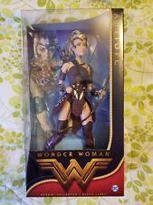 Barbie wonder woman Antiope doll warrior bow and arrow long hair archer Amazon