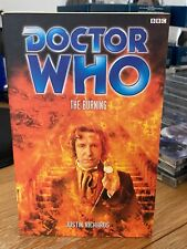 doctor who book -  THE BURNING