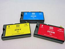 Inkjet Cartridge 200 XL C M Y for Lexmark OfficeEdge Pro5500 Pro5000 Pro4000 3PK