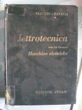 Olivieri e Ravelli MACCHINE ELETTRICHE 18° ed. CEDAM 1975