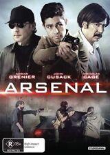 Arsenal DVD NEW Region 4 Nicolas Cage Adria Grenier