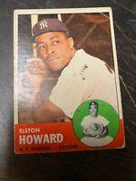 1963 Topps #60 Elston Howard - New York Yankees