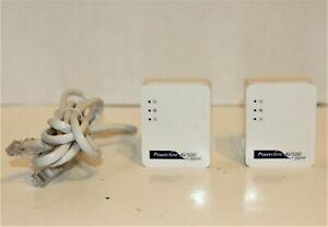 Netgear Powerline 500Mbps Nano Adapter XAVB5101 2 units 1 cord