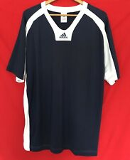 New 04/05 Adidas The Brand With The 3 Stripes Navy Blue white Jersey Shirt Xl