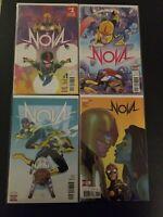 Marvel comics 2017 Nova 7 Issues # 1-7 full run