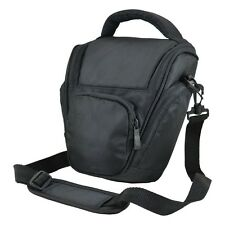 AX7 Black DSLR Camera Case Bag for Panasonic FZ48 FZ62 FZ150 FZ200 LZ20