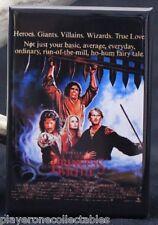 "The Princess Bride Movie Poster - 2"" X 3"" Fridge / Locker Magnet."