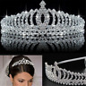 Bridal Wedding Crystal Rhinestone Hair Crown Comb Tiara Prom Pageant Headband