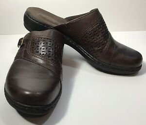 Clarks Bendables Brown Leather Size 9 M Great Condition Casual