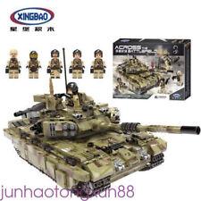 XINGBAO 06015 1386Pcs Military Series The Scorpio Tiger Tank Set Building Bricks