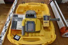 Trimble/SPECTRA PRECISION LL300N Rotatif Niveau laser, détecteur, trépied, 5 m du personnel.