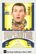 2009 Select NRL Champions Superstar Acetate Mascot Gem Card MG9 Aaron Payne