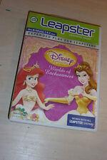 Leap Frog Leapster 1 I 2 II Juego Disney Princesa mundos de encantamiento Completa
