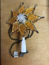 New ListingThe Trimmery Christmas 10 Light Tree Top Works