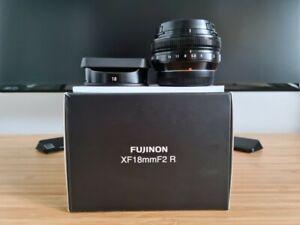 NEAR MINT Fujifilm Fujinon XF18mm F2 R Lens