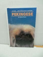 Pekingese Beverley Pisano Guide Book Dog Grooming Feeding Breeding Health Care