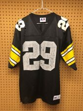 BARRY FOSTER Logo Athletic PITTSBURGH STEELERS Black Jersey - Adult Large 46-48