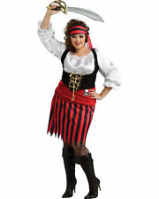 "Adult Ladies Renaissance HALLOWEEN COSTUME ""Pirate Girl"" PLUS 16-22 Three Piece"