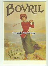 ad3625 - Bovril - Lady Golfer On Bovril - Modern Advert Postcard