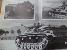 PANZERS IN THE DESERT AFRIKA CORPS MODEL PHOTOS,1ST EDITION BRUCE QUARRIE WW2