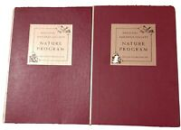 National Audubon Society Nature Program 1955 & 1956, 12 Booklets in Slip Cases