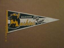 MWL Madison Muskies Vintage Alive and Swingin' 1980's Team Logo Baseball Pennant