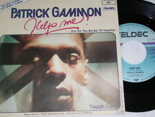 "7"" - Patrick Gammon - Help me & Tough Luck - 1985 # 3241"