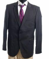Strellson Sakko Jacket Gr.50 grau kariert Einreiher 2-Knopf -S394